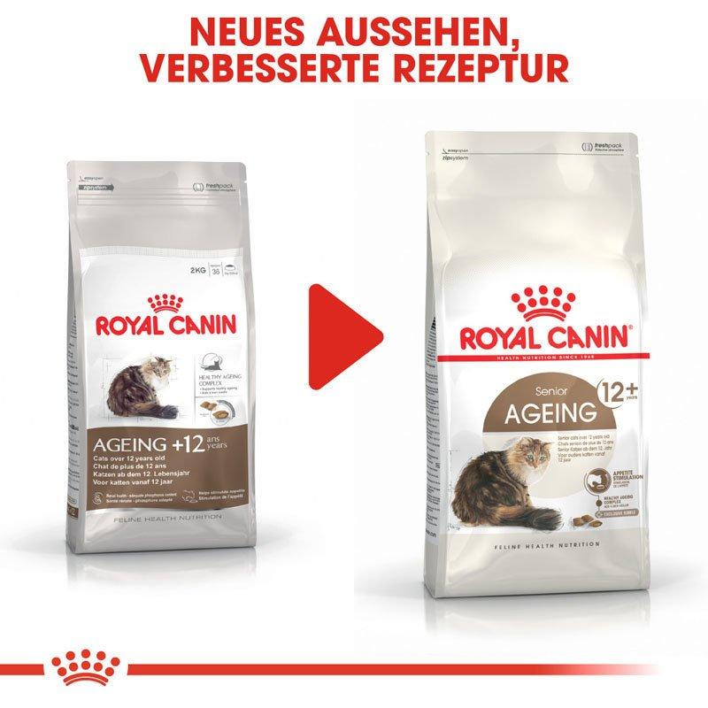 Royal Canin Ageing 12+ Trockenfutter für ältere Katzen, Bild 9