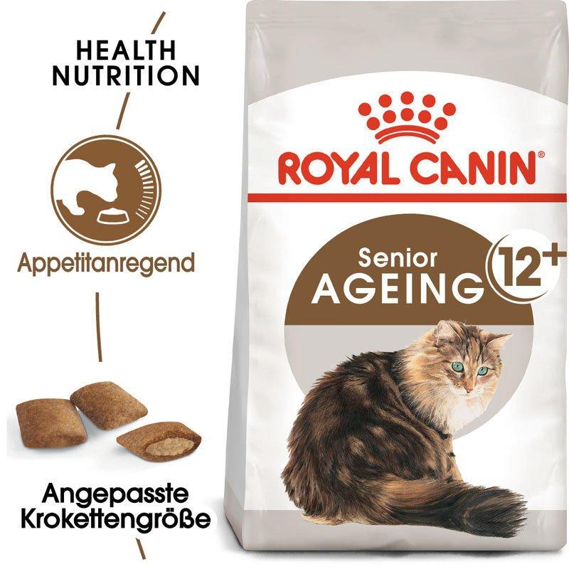 Royal Canin Ageing 12+ Trockenfutter für ältere Katzen, Bild 3