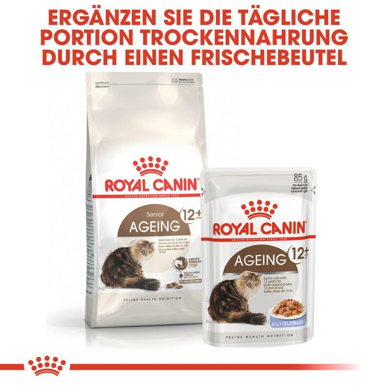 Royal Canin Ageing 12+ Trockenfutter für ältere Katzen, Bild 2