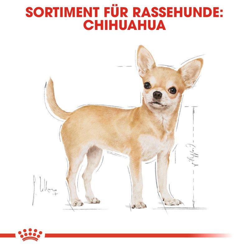 Royal Canin Chihuahua Adult Hundefutter trocken, Bild 2