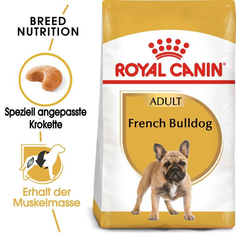 Royal Canin French Bulldog Adult Hundefutter trocken für Französische Bulldoggen, Bild 4