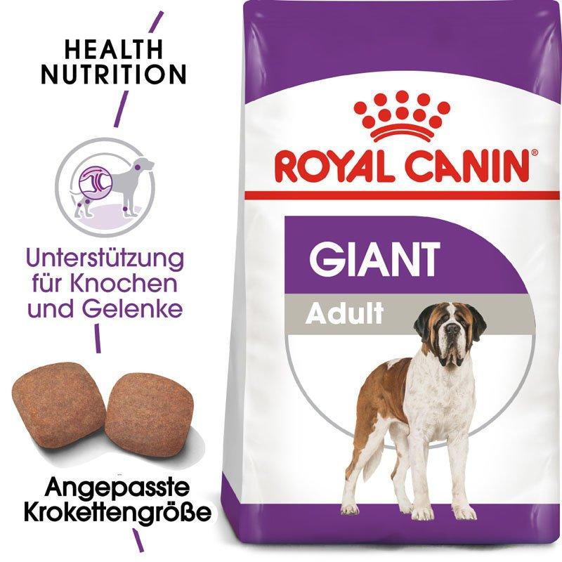 Royal Canin Giant Adult Trockenfutter für sehr große Hunde, Bild 2