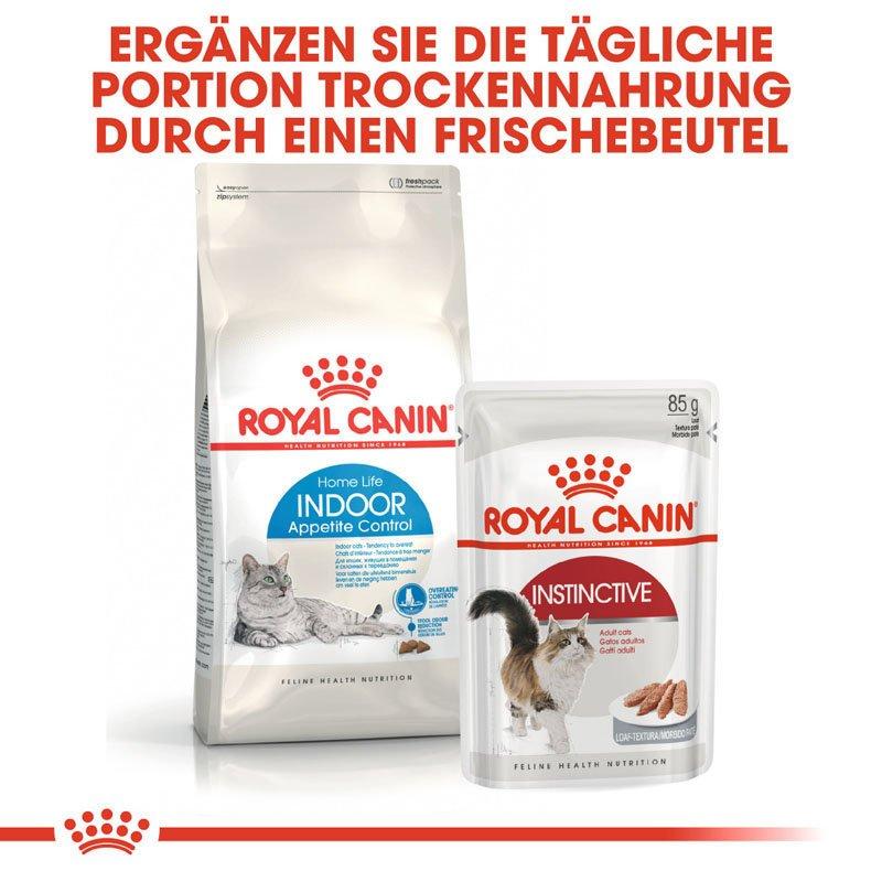 Royal Canin INDOOR Appetite Control Trockenfutter für übergewichtige Wohnungskatzen, Bild 2