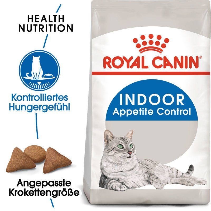 Royal Canin INDOOR Appetite Control Trockenfutter für übergewichtige Wohnungskatzen, Bild 3