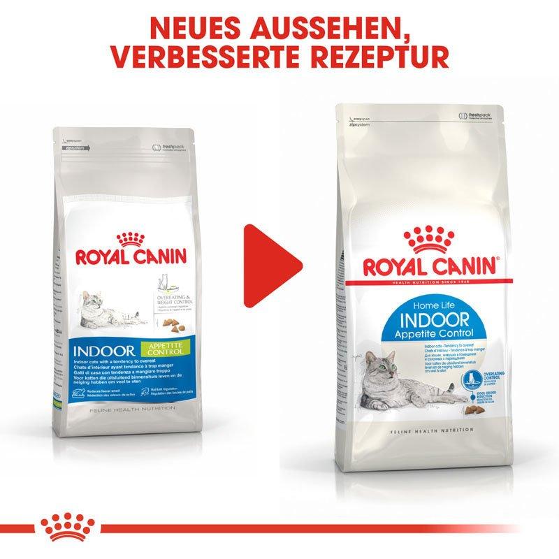 Royal Canin INDOOR Appetite Control Trockenfutter für übergewichtige Wohnungskatzen, Bild 8