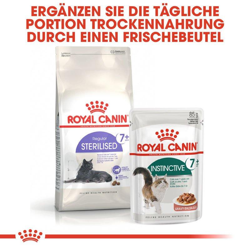 Royal Canin INSTINCTIVE 7+ Nassfutter in Soße für ältere Katzen, Bild 2