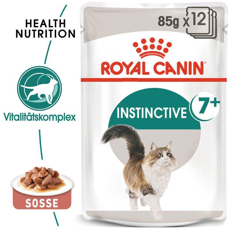 Royal Canin INSTINCTIVE 7+ Nassfutter in Soße für ältere Katzen, Bild 3
