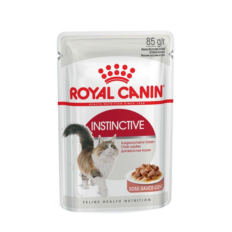 Royal Canin INSTINCTIVE Katzenfutter nass in Soße oder Gelee, 12 x 85g in Soße