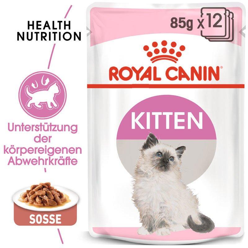 Royal Canin KITTEN Nassfutter in Soße oder Gelee für Kätzchen, Bild 4