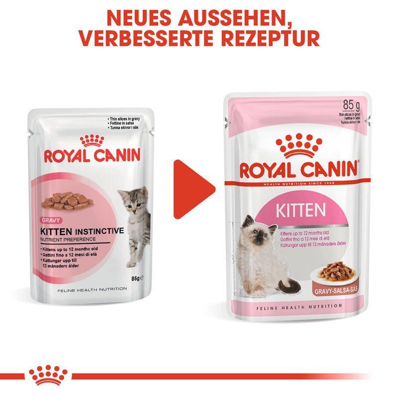 Royal Canin KITTEN Nassfutter in Soße oder Gelee für Kätzchen, Bild 9