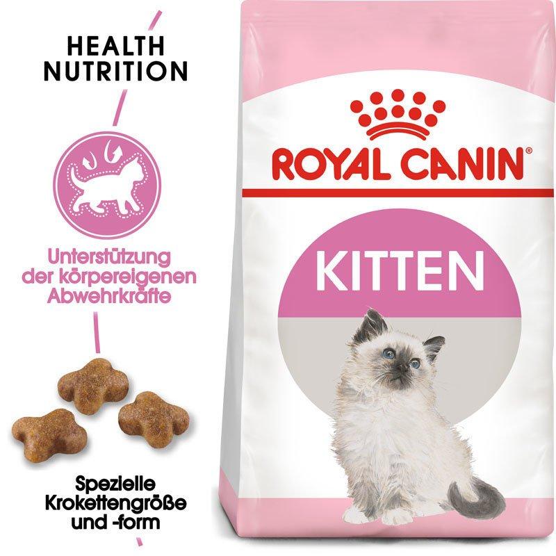 Royal Canin KITTEN Trockenfutter für Kätzchen, Bild 3