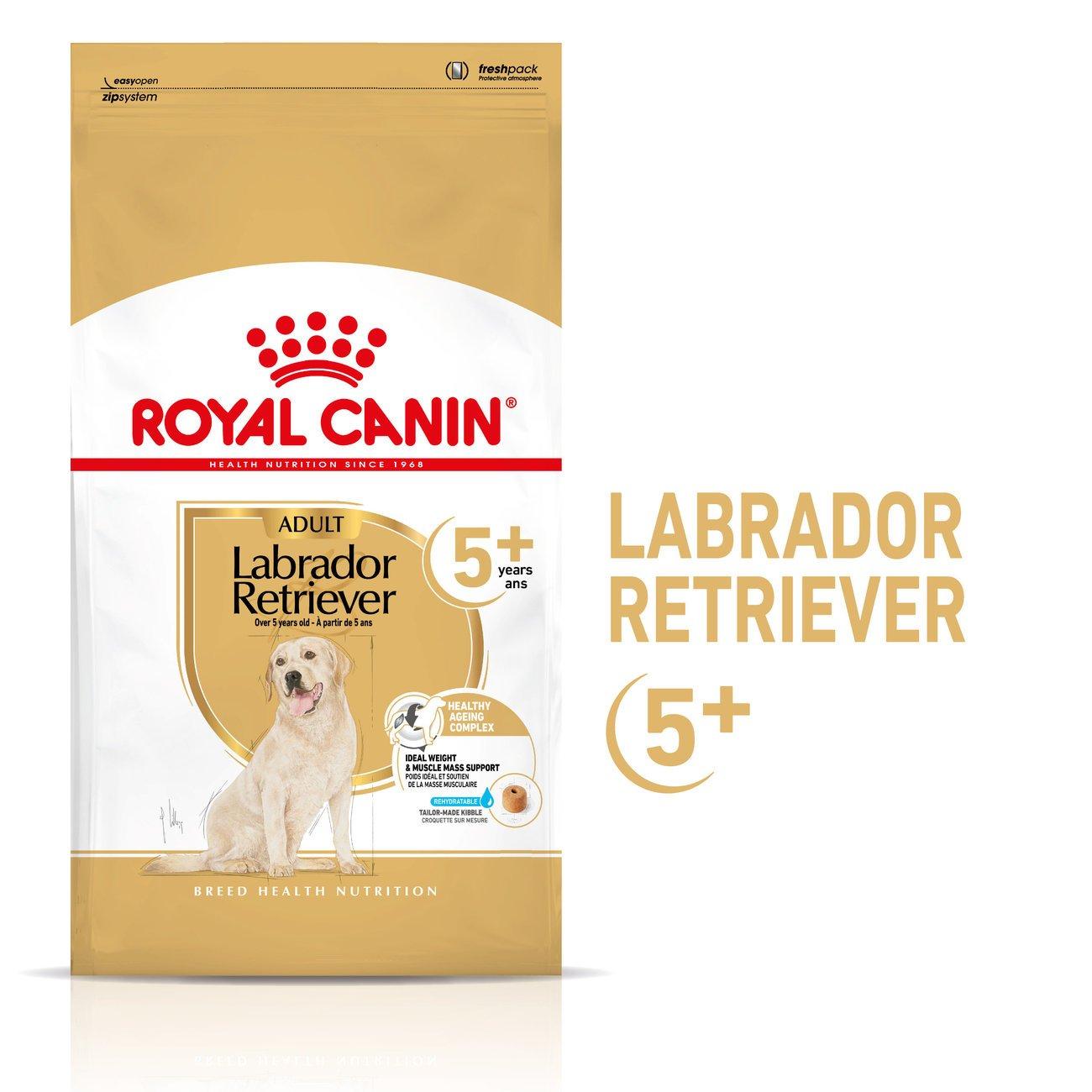 Royal Canin Labrador Retriver Trockenfutter 5+, 12 kg