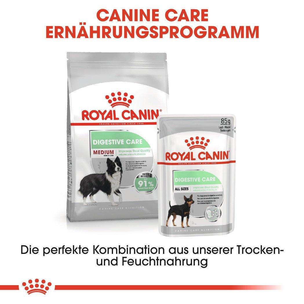 Royal Canin Medium Digestive Care Trockenfutter für mittelgroße Hunde mit emfindlicher Verdauung, Bild 9