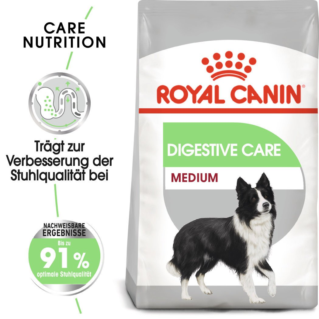 Royal Canin Medium Digestive Care Trockenfutter für mittelgroße Hunde mit emfindlicher Verdauung, Bild 2