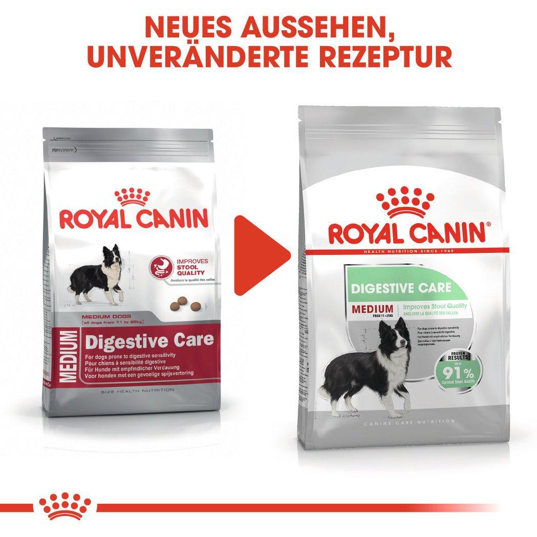 Royal Canin Medium Digestive Care Trockenfutter für mittelgroße Hunde mit emfindlicher Verdauung, Bild 6