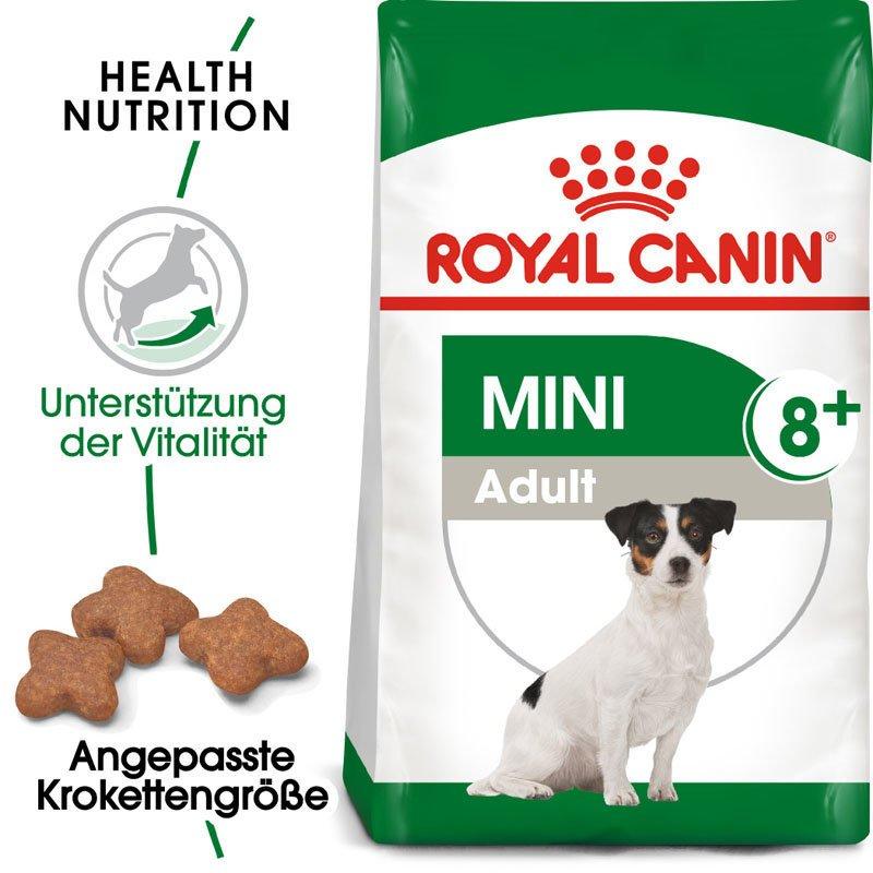 Royal Canin Mini Adult 8+ Trockenfutter für ältere kleine Hunde, Bild 3