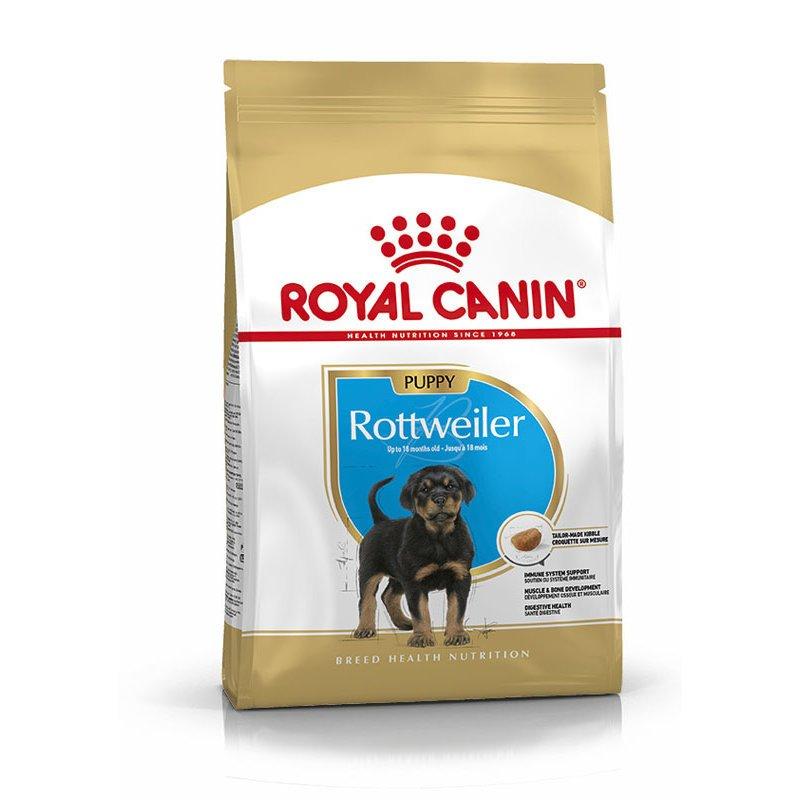 Royal Canin Rottweiler Puppy Hunde Welpenfutter trocken, 12 kg