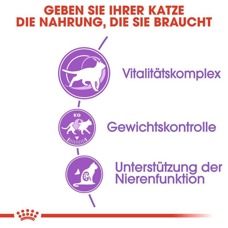 Royal Canin STERILISED 7+ Trockenfutter für ältere kastrierte Katzen, Bild 5