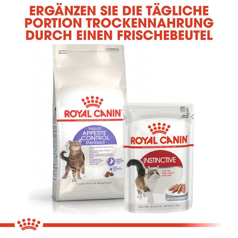 Royal Canin STERILISED Appetite Control Trockenfutter für kastrierte übergewichtige Katzen, Bild 2