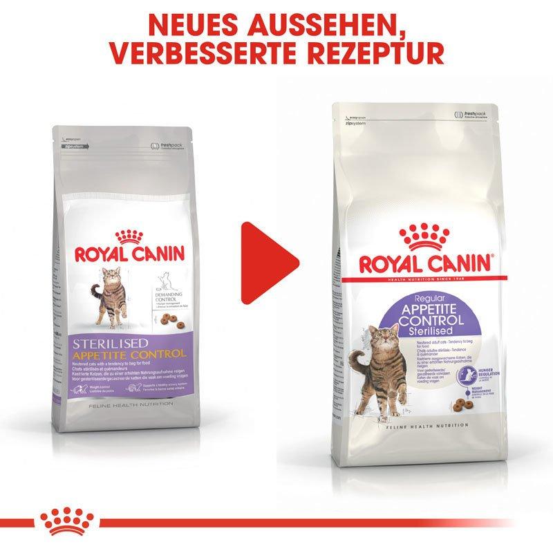 Royal Canin STERILISED Appetite Control Trockenfutter für kastrierte übergewichtige Katzen, Bild 9