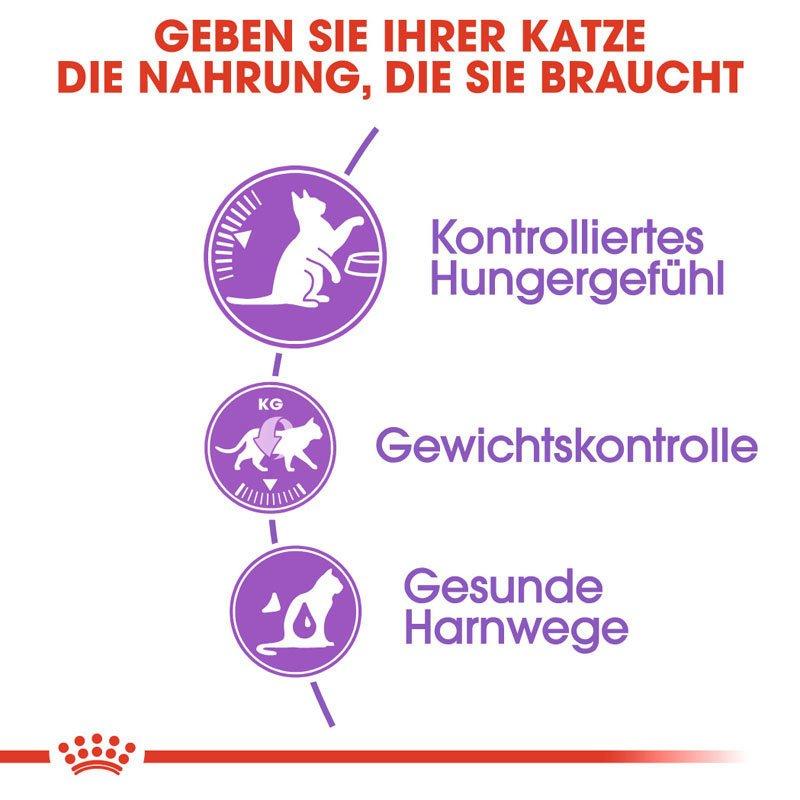 Royal Canin STERILISED Appetite Control Trockenfutter für kastrierte übergewichtige Katzen, Bild 5