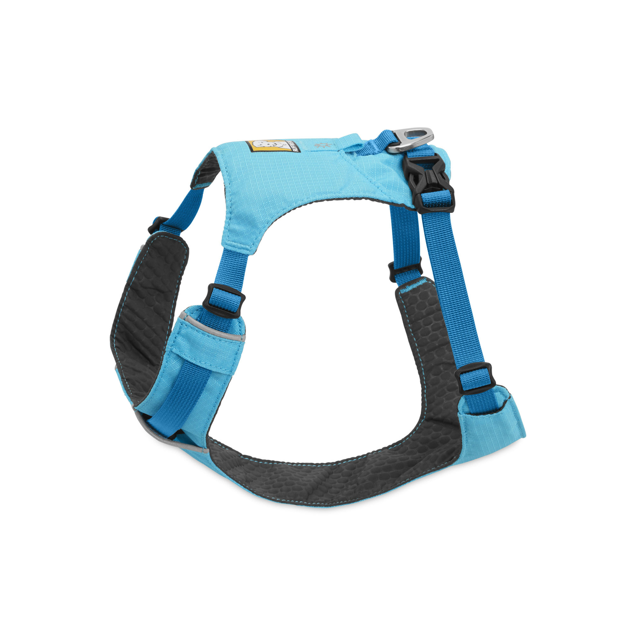 Ruffwear Hi & Light Harness Hundegeschirr, M, 69-81 cm, Blue Atoll