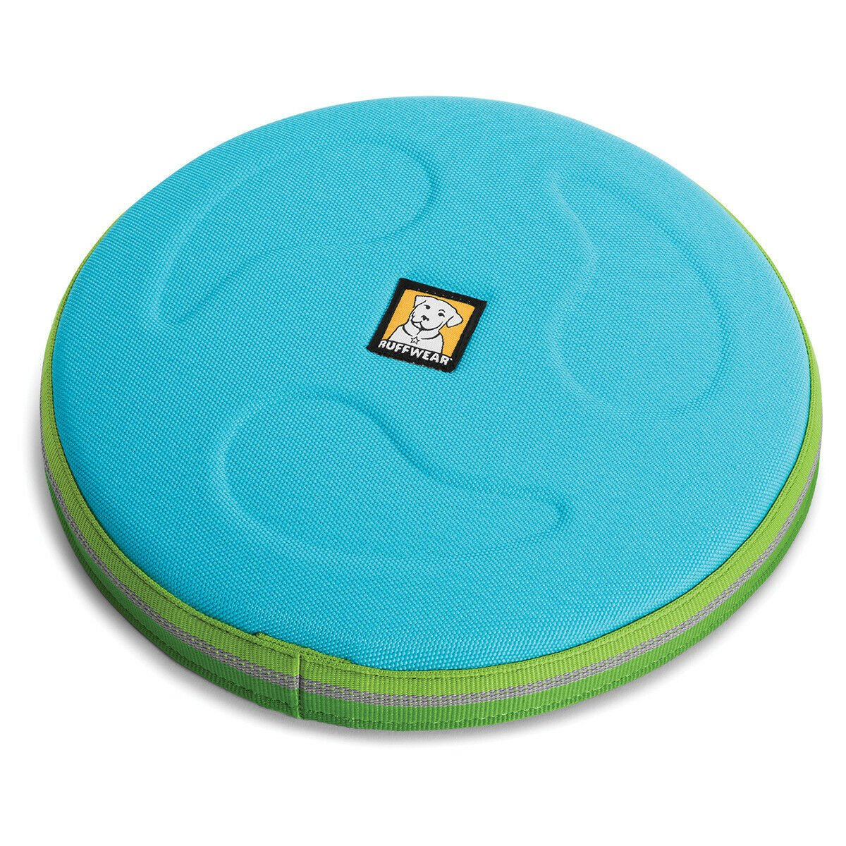 Ruffwear Hundespielzeug Hover Craft™ Frisbee, L, Blue Atoll - Ø 23 cm