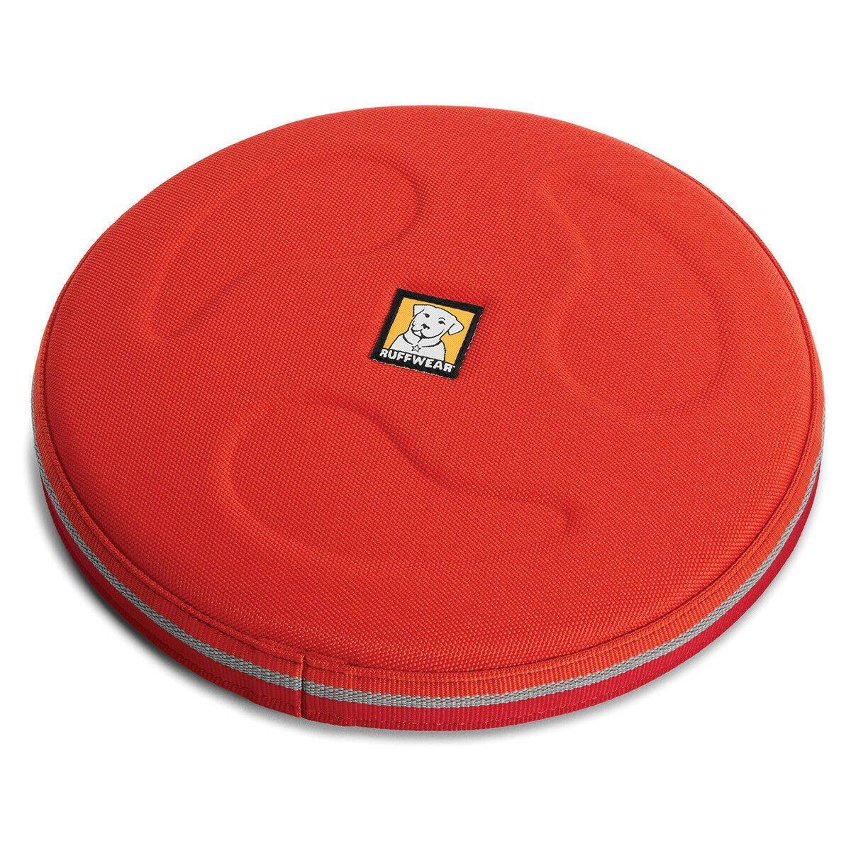 Ruffwear Hundespielzeug Hover Craft™ Frisbee, L, Sockeye Red - Ø 23 cm