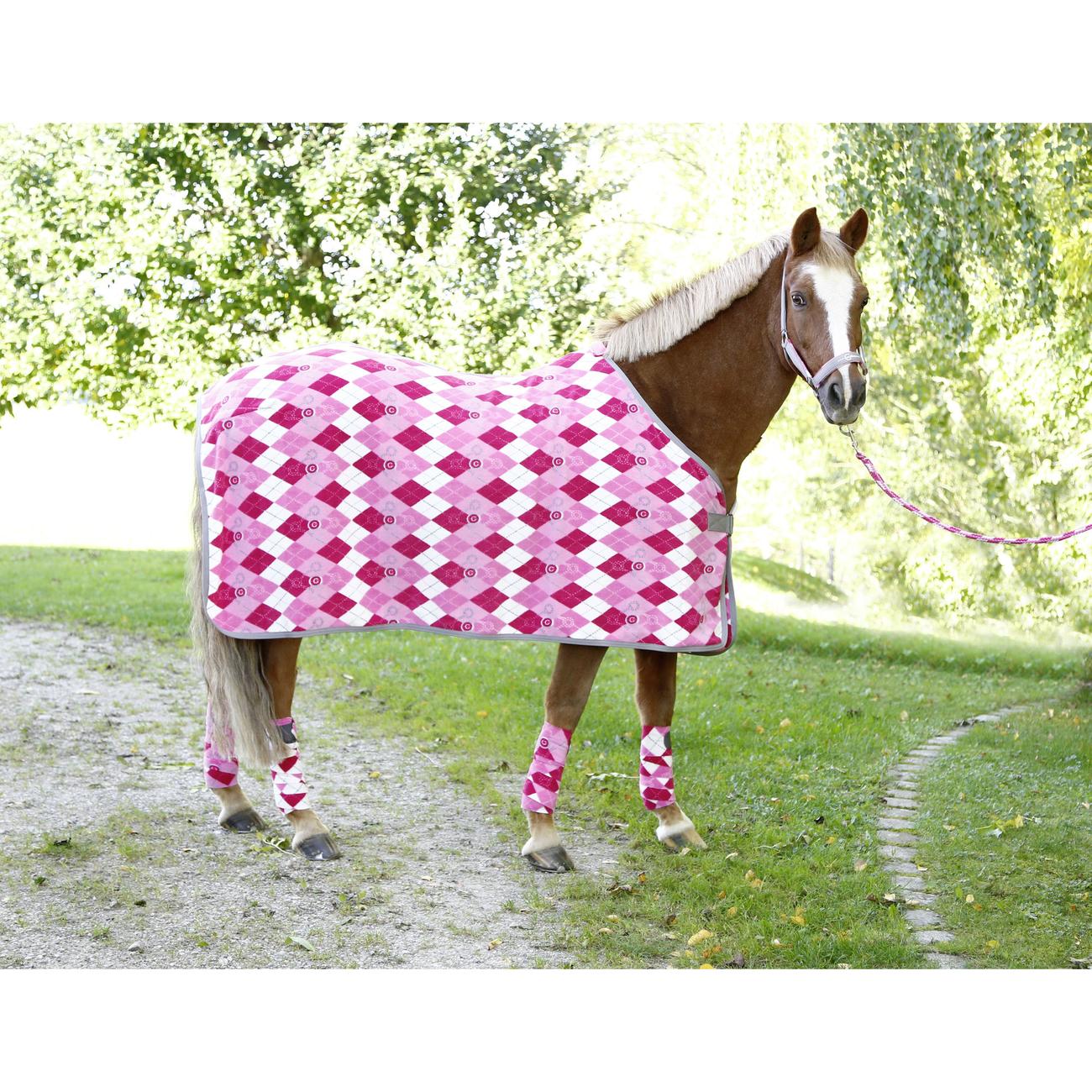 Covalliero RugBe Pony Pferdedecke Fleecedecke Lilli, Bild 3