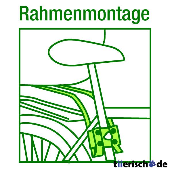 Aumüller Halter für Hundefahrradkorb von mit Rahmenmontage, Bild 2