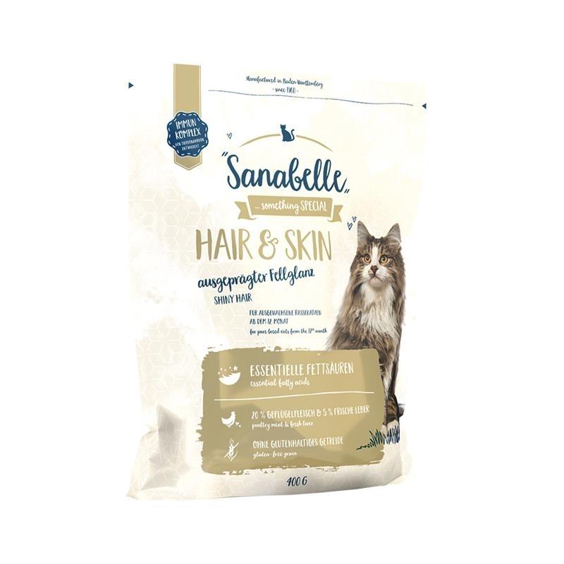 Bosch Sanabelle Hair & Skin Katzenfutter, 400g