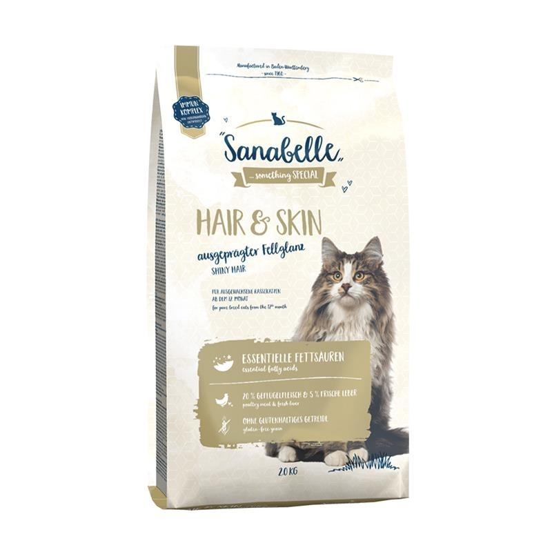 Bosch Sanabelle Hair & Skin Katzenfutter, 2 kg