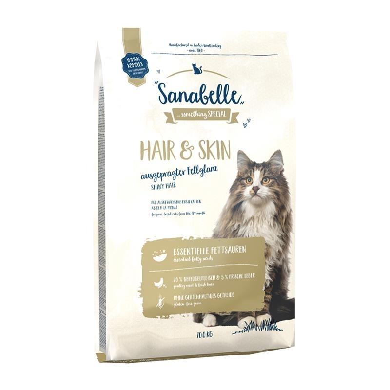 Bosch Sanabelle Hair & Skin Katzenfutter, 10 kg
