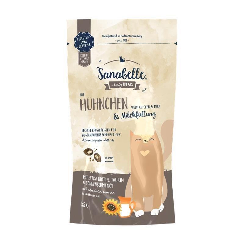 Bosch Knusperkissen Snack, Huhn/Milch, 55g