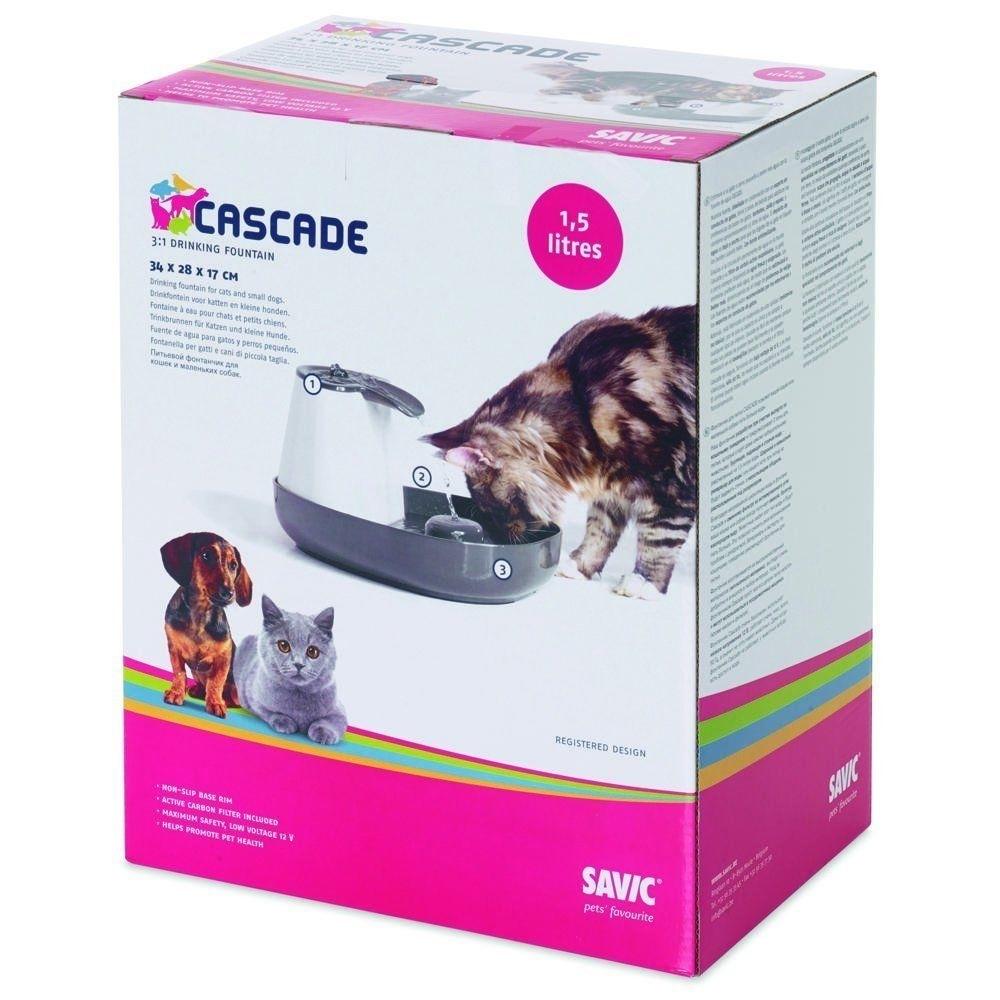 Savic Trinkbrunnen Cascade für Katzen und Hunde, Bild 4