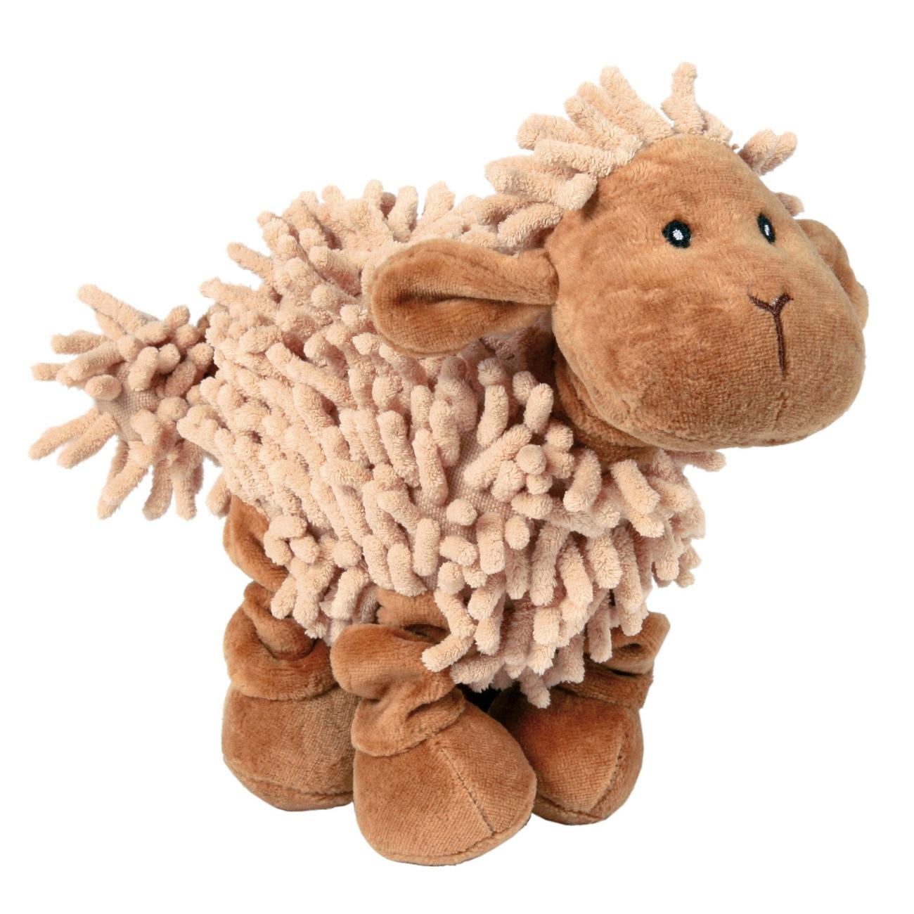 Trixie Schaf, Plüschtier für Hunde, 21 cm