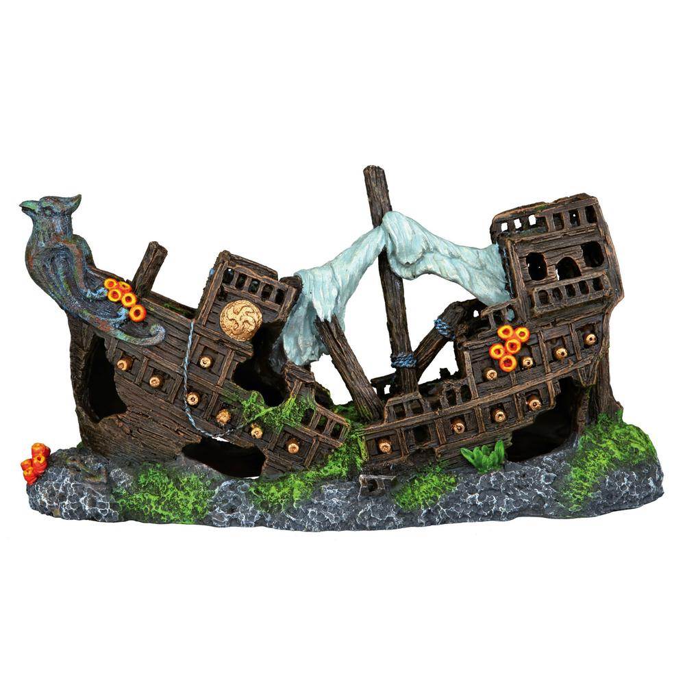 Trixie Schiffswrack für Aquarium, 23 cm