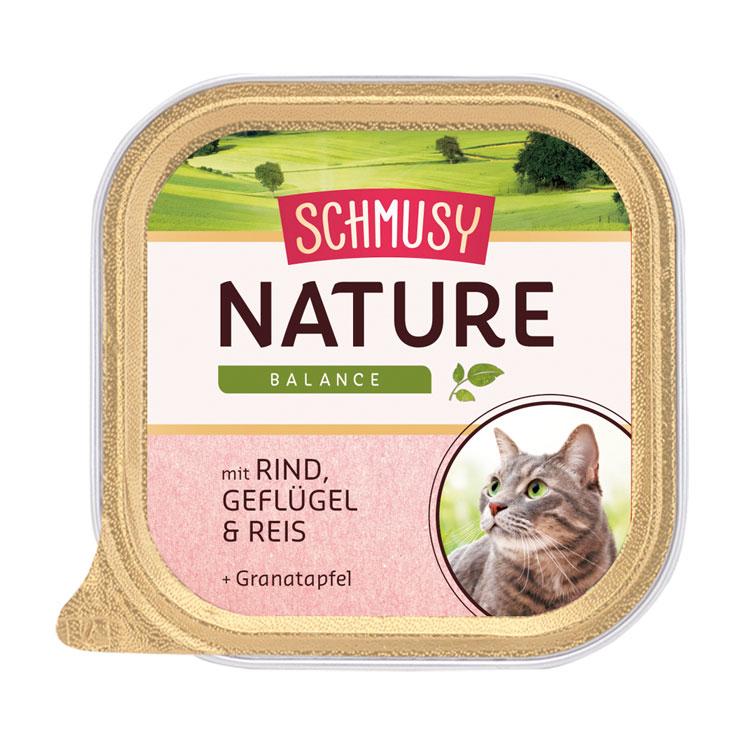 Schmusy Nature Katzenfutter Schälchen, Bild 6