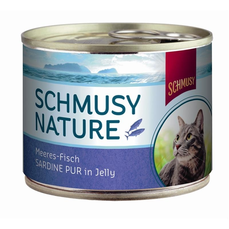 Schmusy Nature Meeres-Fisch Katzenfutter