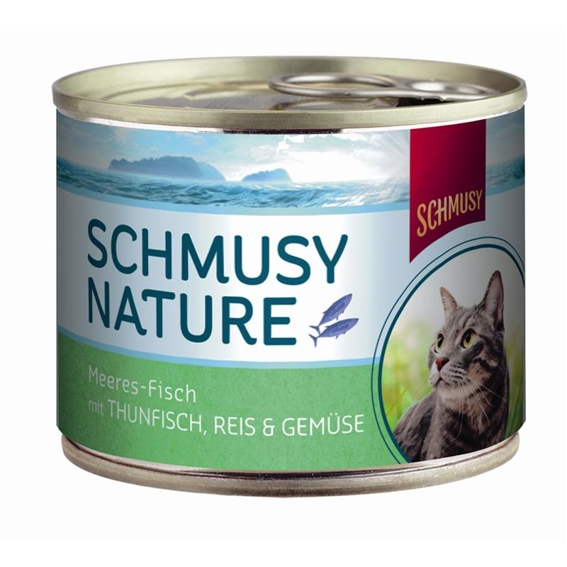 Schmusy Nature Meeres-Fisch Katzenfutter, Bild 4
