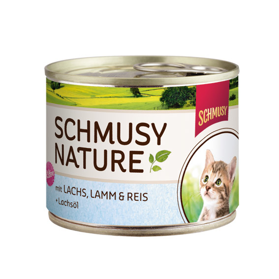 Schmusy Nature Katzenfutter Dosen