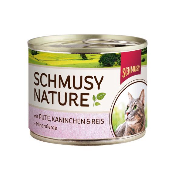 Schmusy Nature Katzenfutter Dosen, Bild 2