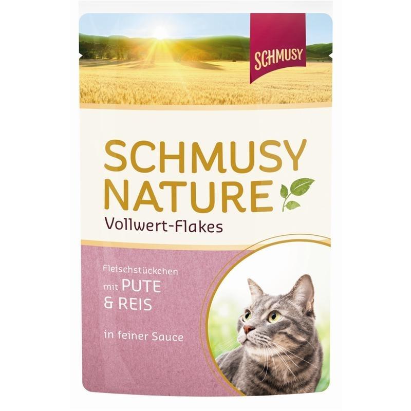 Schmusy Vollwert Flakes Katzenfutter Portionsbeutel, Bild 4