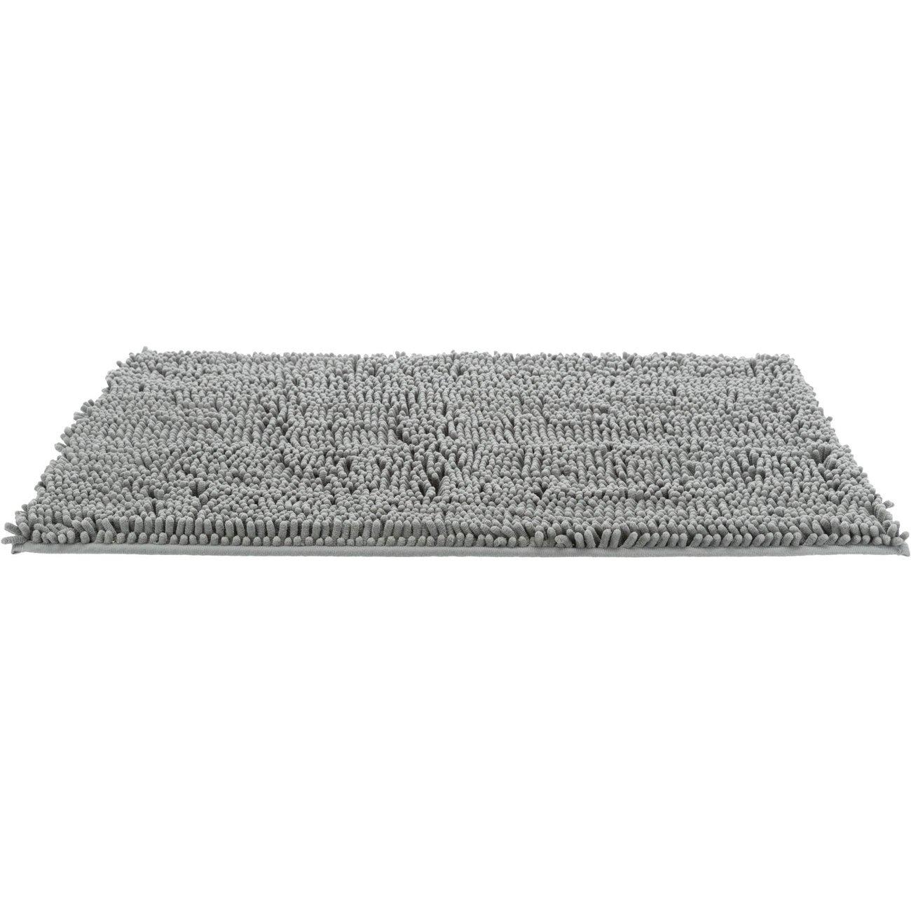 Trixie Schmutzfangmatte für Hunde, 60 x 50 cm, grau
