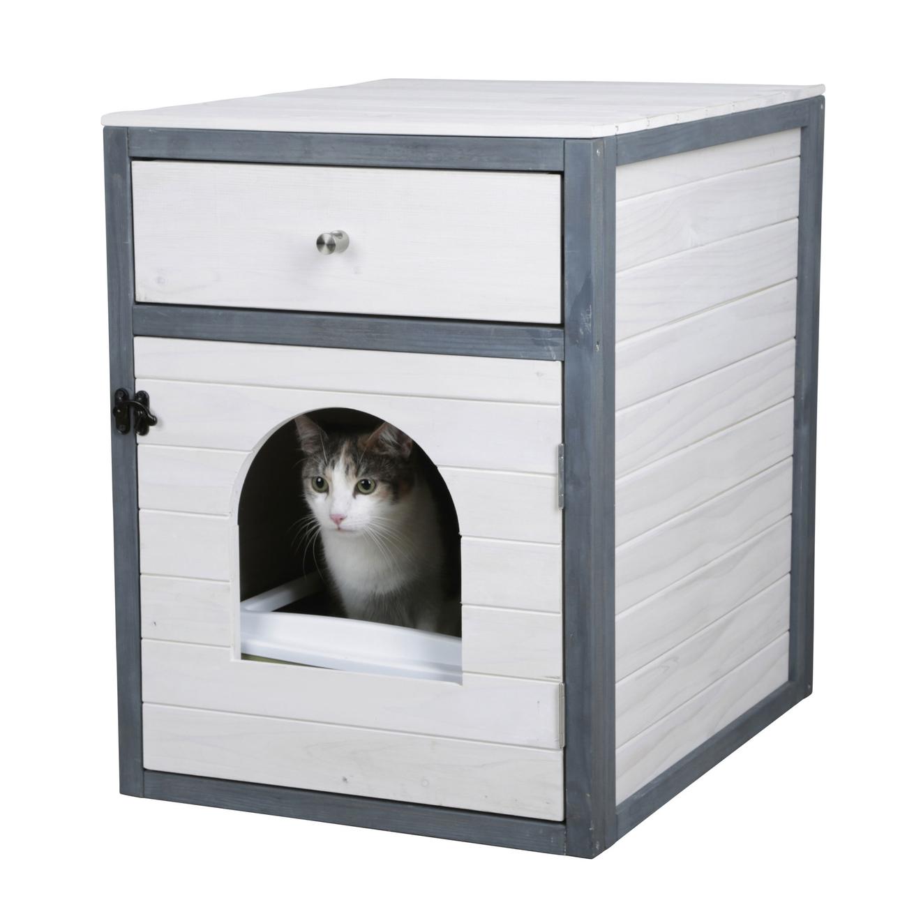 Kerbl Schrank für Katzentoilette Ida