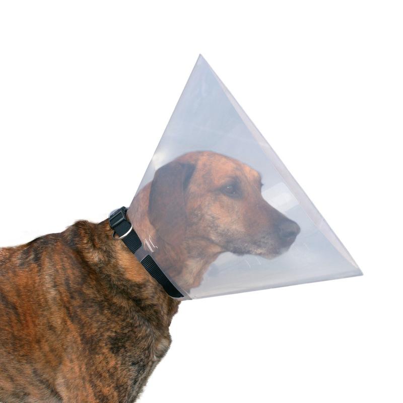 Trixie Schutzkragen für Hunde, Leckschutz Kunststoff 19480