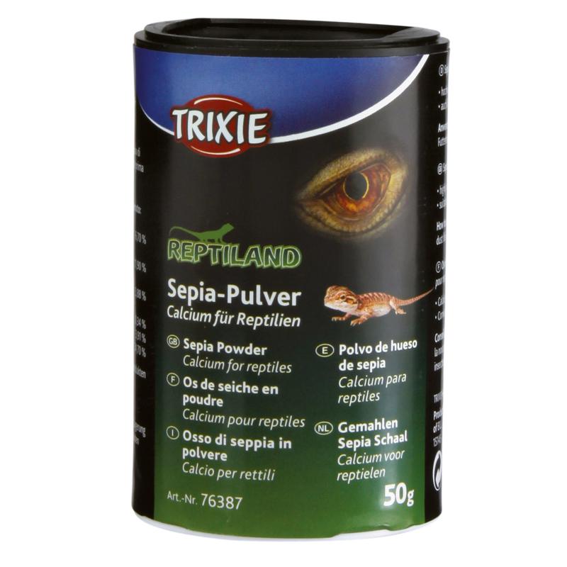 TRIXIE Sepia-Calciumpulver für Reptilien 76387