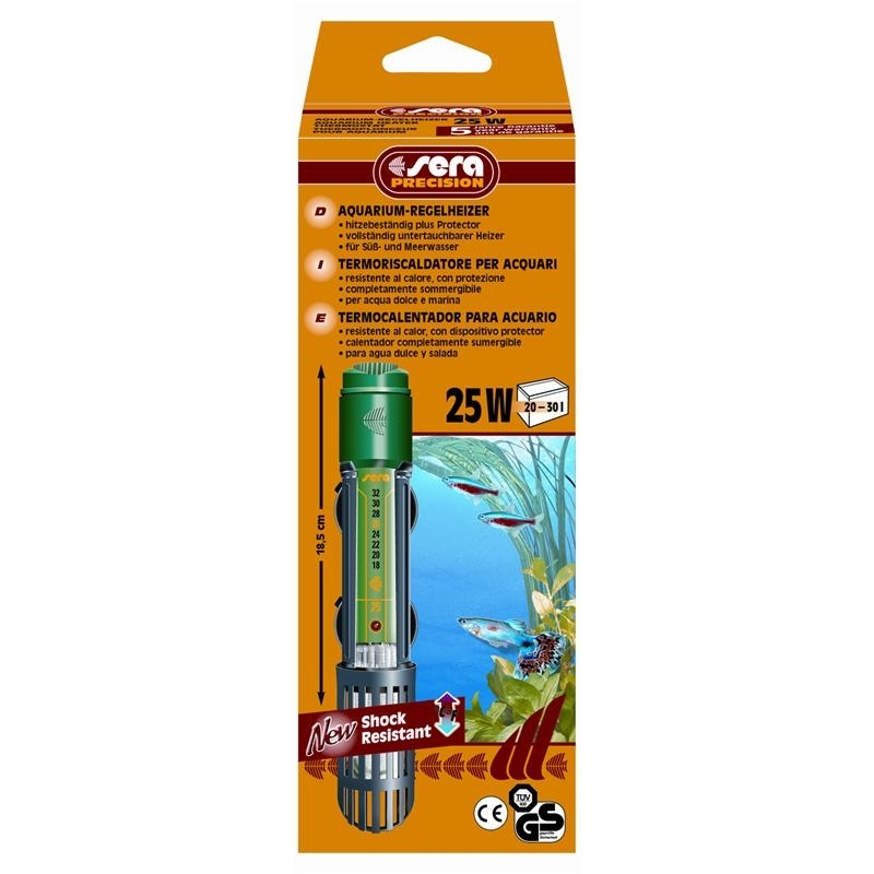 Sera Aquarium Regelheizer, 25 Watt