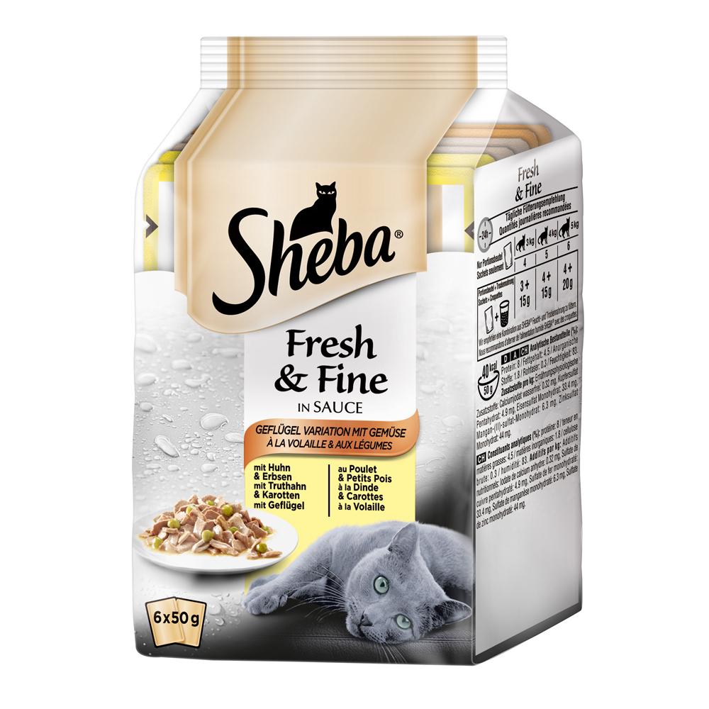 Sheba Fresh&Fine Katzenfutter Multipacks, Bild 2
