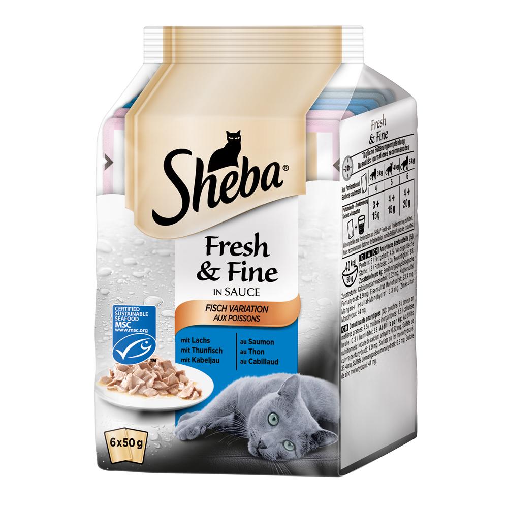 Sheba Fresh&Fine Katzenfutter Multipacks, Bild 7